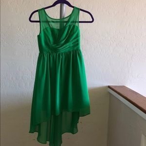 Junior's Green Dress